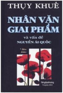 """thụy - Vụ án """"Nhân Văn Giai phẩm"""" Bia_nhan_van_giai_pham-thuy_khue"""