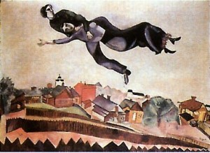 couple_flying_over_village-marc_chagall
