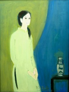 Thiếu nữ áo lục