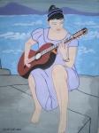Guitar trên biển
