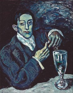 the_absinthe-drinker-paoblo_picasso