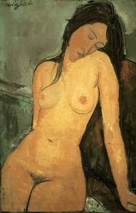 seated_nude-amedeo_modigliani-1916