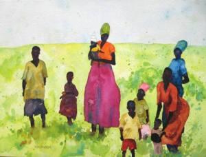 african_women_and_children-sandi_hester
