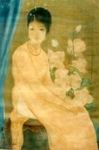 Chân dung thiếu nữLụa - Tôn Thất Đào