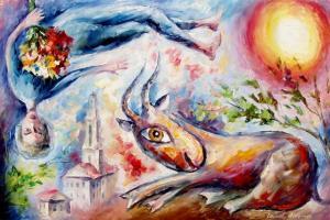 sunny_goat-leonid_afremov
