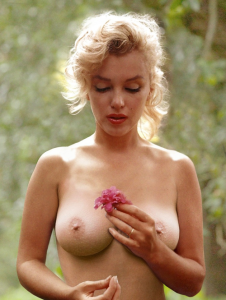 marylin_monroe_flower_beauty