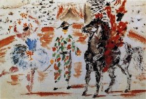 circus-1918-pablo_picasso