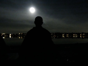 man-meditating-moon
