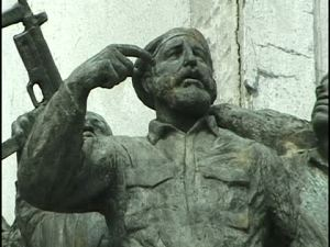 statue_of_fidel_castro